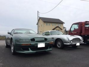DB5 and V8 Vantage